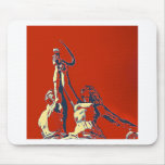 Rise of The Red Worker II Mousepads