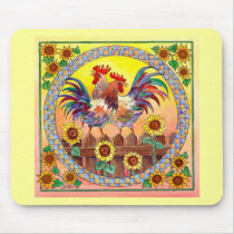 RISE & SHINE by SHARON SHARPE Mouse Pad