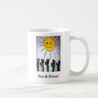 Rise & Shine! Classic White Coffee Mug