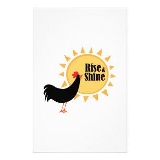 Rise & Shine Stationery Design