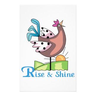 Rise & Shine Stationery