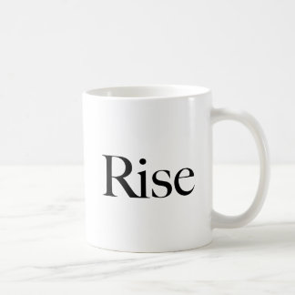 Rise, text word, Make a Difference Coffee Mug