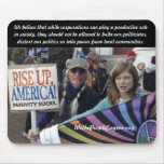 Rise Up America Mouse Pad