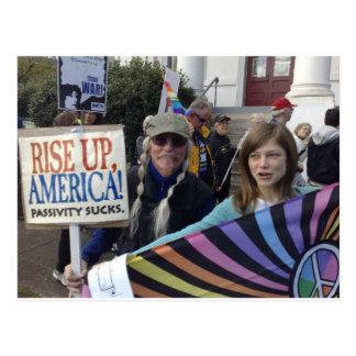 Rise Up America Postcard