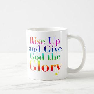 Rise Up and Give God the Glory Mug