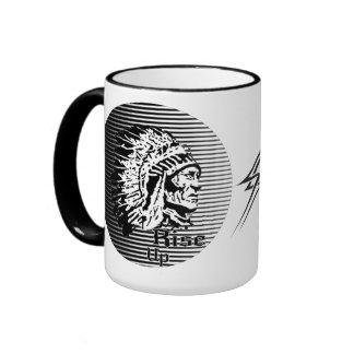 Rise Up - Be A Warrior Coffee Mug