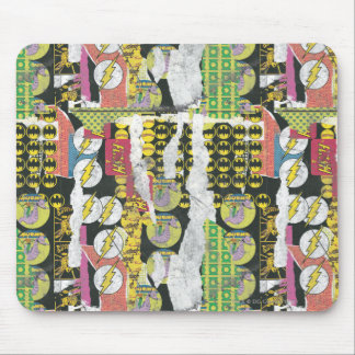 Rise Up Collage Pattern Mouse Pad
