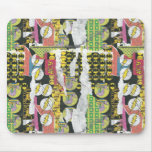 Rise Up Collage Pattern Mouse Pads