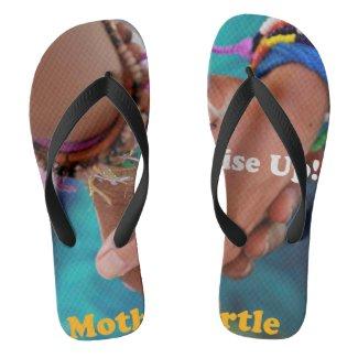 Rise Up Flip Flops