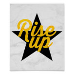 Rise Up Hamilton Poster
