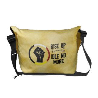 Rise Up - Idle No More Rickshaw Messenger Bag