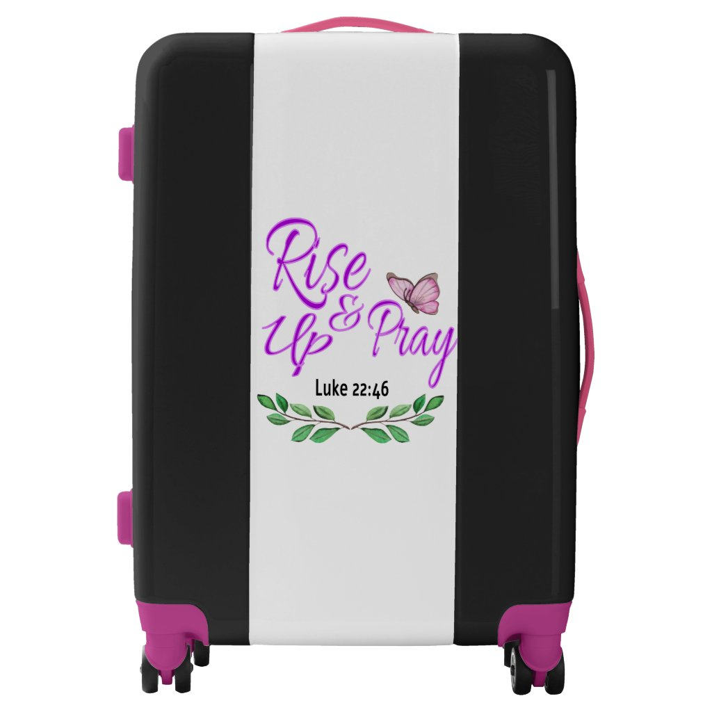 Rise Up & Pray Luggage