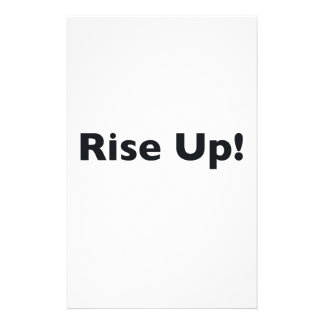 Rise Up! Stationery