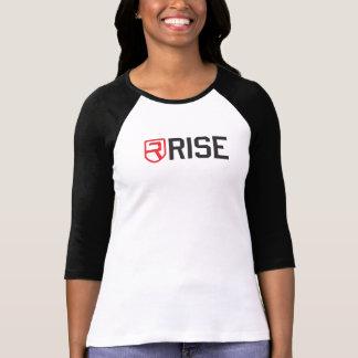 Rise Womens Fitness 3/4 Sleeve T-Shirt