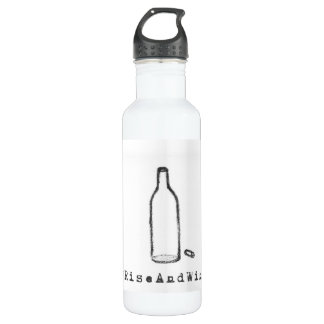 #RiseAndWine Water Bottle