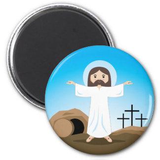 Risen Christ 2 Inch Round Magnet