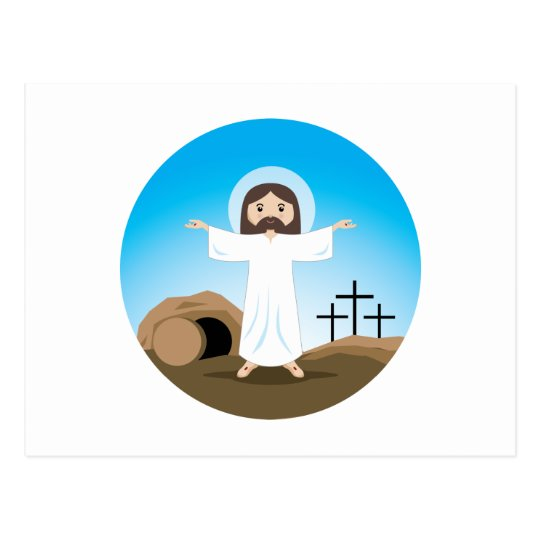 Risen Christ Postcard