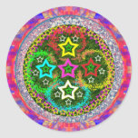 RISING 5Stars - Kids Love FiveStars Round Stickers
