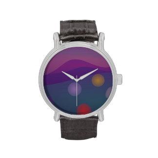Rising Bubbles Art Wristwatches