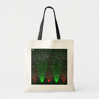 Rising Bubbles Green/Red Bag