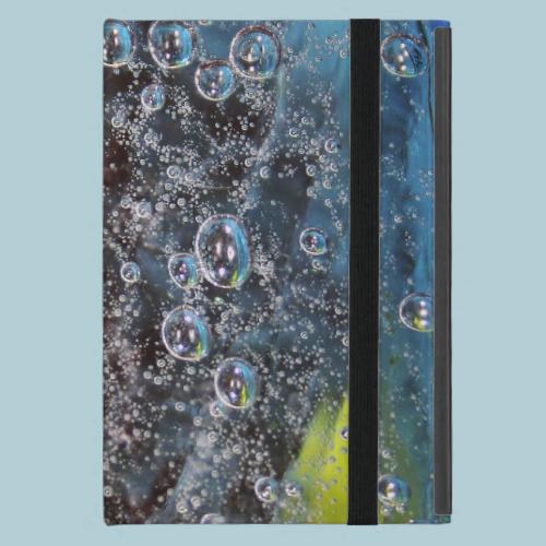 Rising Bubbles in Glass Case For iPad Mini