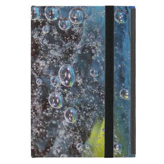 Rising Bubbles in Glass Cases For iPad Mini