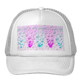 Rising Bubbles Pink/Blue Cap Trucker Hat