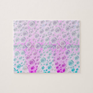 Rising Bubbles (Pink&Blue) Jigsaw Puzzle