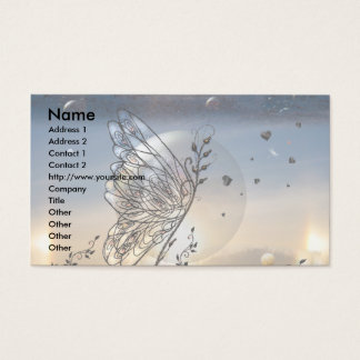 Rising Butterfly! Business Card