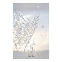 Rising Butterfly! Stationery