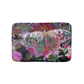 Rising Dawn Butterfly Bath Mat