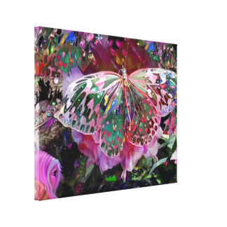 Rising Dawn Butterfly Canvas Print