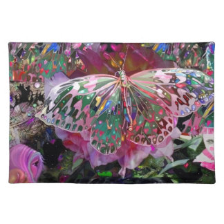 Rising Dawn Butterfly Cloth Placemat