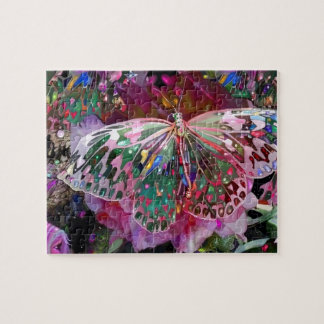 Rising Dawn Butterfly Jigsaw Puzzle
