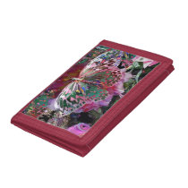 Rising Dawn Butterfly Trifold Wallet