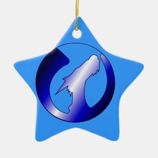 Rising Dragons Logo Ornaments