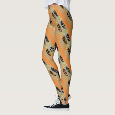 Beach Themed rising fish Thunder_Cove any color Leggings
