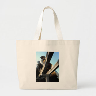 Rising from Rails Large Tote Bag