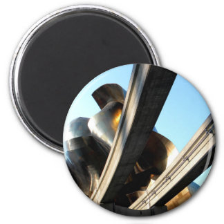 Rising from Rails 2 Inch Round Magnet