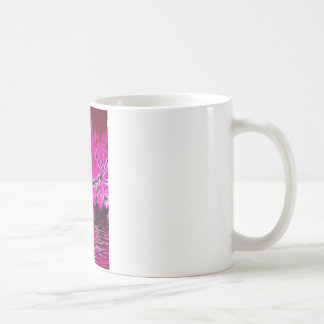 Rising from the depths coffee mug