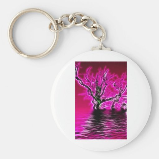 Rising from the depths key chain