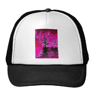Rising from the depths trucker hat