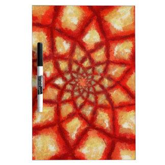 Rising Heat Dry-Erase Whiteboards
