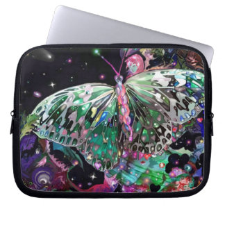 Rising Hope Butterfly Laptop Sleeves