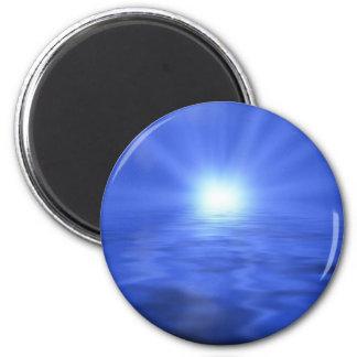 Rising Light 2 Inch Round Magnet
