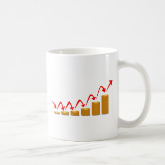 Rising Money Steps Coffee Mug