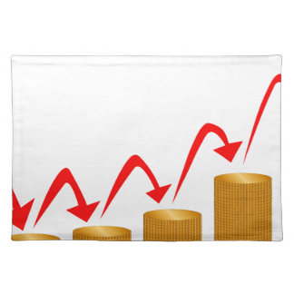 Rising Money Steps Placemat