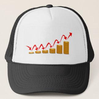 Rising Money Steps Trucker Hat