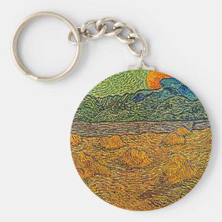 Rising Moon Keychain