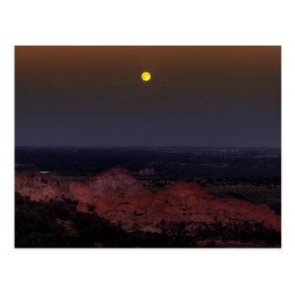 Rising Moon Post Card